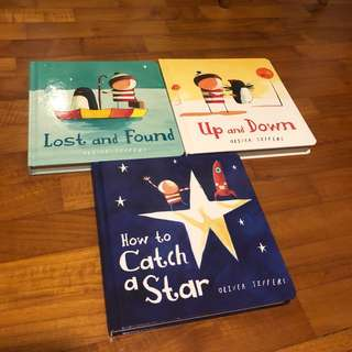 2-4T NEW 3x Oliver Jeffers Board Book Set