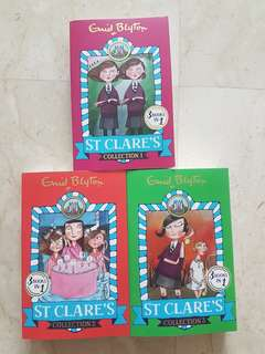 St Clare's Collection 1 2 3 Enid Blyton