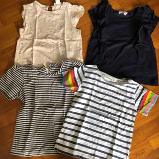 🚚 24M EUC 4x Bundle T-shirts tees toddler