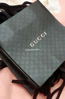 Authentic Gucci Parfums Monogram Paper Bag