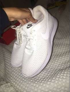 Authentic White Nike Shoes