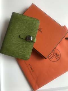 Hermes Wallet Card Holder Dogon compact 愛馬仕 銀包 袋 包