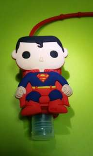 DC Superman Hand Sanitizer Holder