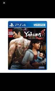 PS4 YAKUZA 6 SONG OF LIFE