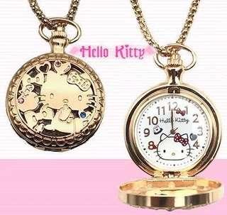 Hellokitty 掛錶 護士錶 限量版 日本