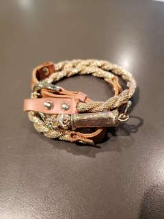 Marc Bernstein New York 'Egyptian' triple wrap bracelet