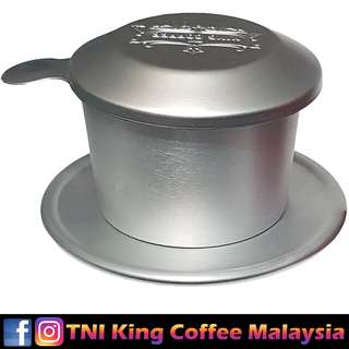🌟TNI King Coffee Alluminium Filter Cup for Ground Coffee🌟 添爱尊尚咖啡铝过滤杯(研磨咖啡)🌟