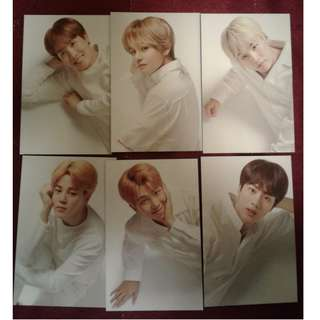 BTS Think Your Teeth Photocards