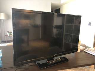 "Barely used 32"" Skyworth Flat Screen TV"
