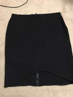 TOPSHOP Fitted Pencil Skirt