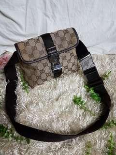 Authentic Gucci Waist Bag/Belt Bag GG Canvas