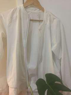 2xu white jacket
