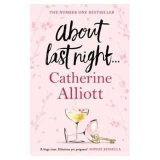 E-book English Novel - About Last Night . . . by Catherine Alliott