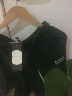 Brand new Stussy dark green track pants