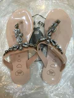 Jelly bunny sandal pink