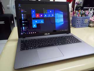 Asus Thin i5/win10/4Gb/500Gb hdd/15.6inch/Gaming /English language laptop /English keyboard