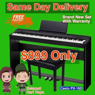 Brand New Set Casio Top Selling PX-160 Digital Piano