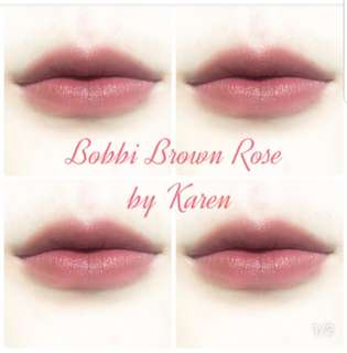 Bobbi Brown lipstick #5 rose