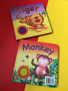 2pcs sound board books