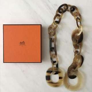 Hermes Horn Link Necklace