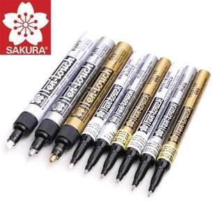 Gold/ Silver/ White Marker Pen [PO]