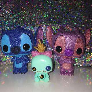 Custom Glitter Stitch Trio Pop Vinyls