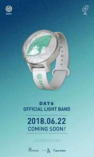 P.O DAY6 OFFICIAL LIGHTBAND