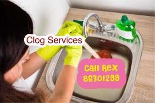 Clear clog