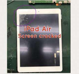 iPad Series Screen Crack & LCD Replacement
