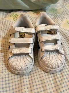 Adidas Original Superstar Kids Babies Size uk 6 1/2k
