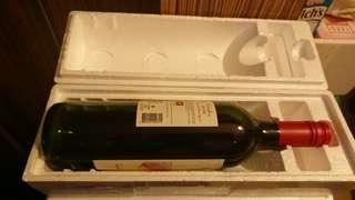 二手發泡膠酒盒3個