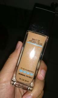 Foundation Maybelline Fit Me shade 330 Toffe