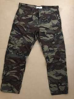 Chocoolate男裝迷彩褲XL W34 W35