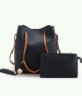 Korean Bucket Shoulder Bag
