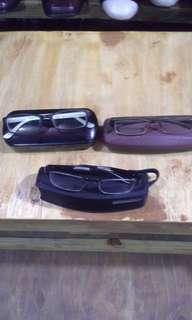 3 kacamata merk(Hammer swiss,Rudyproject,Prada) original frame