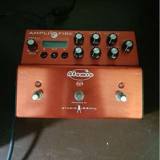 Atomic Amplifire amp and cab modeller