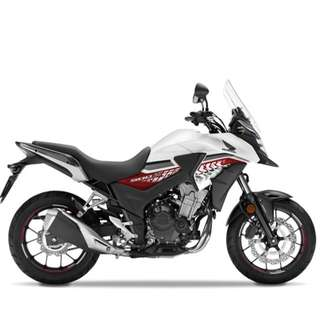 Honda cb400x $20.5k OTR B4 INSURANCE D/P $500 or $0 With out insurance (Terms and conditions apply. Pls call 67468582 De Xing Motor Pte Ltd Blk 3006 Ubi Road 1 #01-356 S 408700.