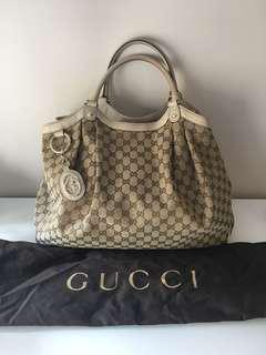 Authentic Gucci Large Sukey Tote