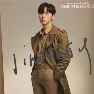 黃旼泫 wanna one 演唱會周邊 photo screen