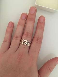 Stirling Silver Ring Set