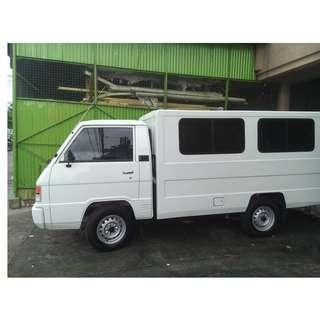 L300 van for rent - office furniture - partition