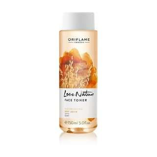 love nature face toner oat