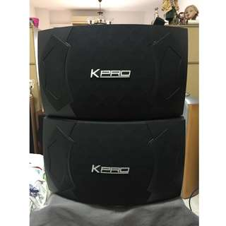KPRO KS-100 Karaoke Speakers (8 Ohms, 380Watts)