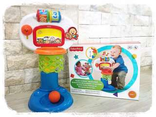 Fisher-Price Fun Basketball Stand