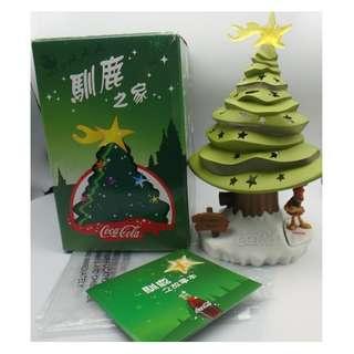 Coca-Cota 可口可樂 馴鹿之家 聖誕樹燈