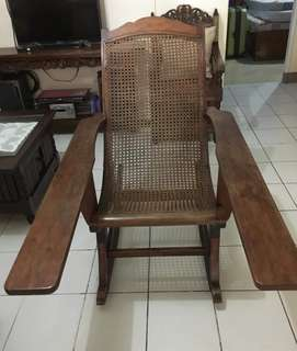 Narra antique rocking chair