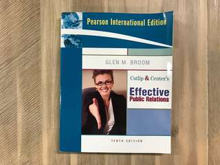 {NM2219} Effective Public Relations (10th Edt)