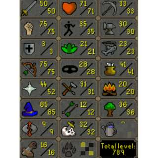 66 Combat Baby Pure 50-75-3  75 Rng 85 Mage 52 Pray *3 Letter Name* Letting go quick Osrs/07