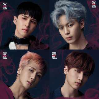 VIXX Lost Fantasia A3 Poster (Ken, Hyuk, Ravi, Hongbin)