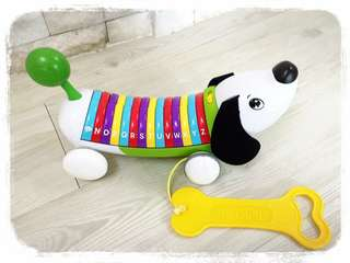 Rainbow Letter Puppy (Green) ★ Original Quality Toy